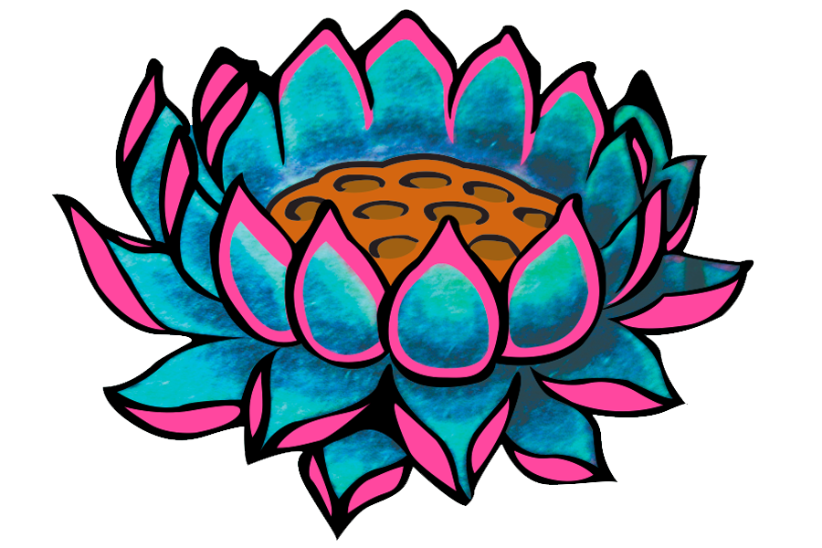 DesignGood Logo Design is at the heart of all brands. This illustrated flower is just one style of logo that I produce.